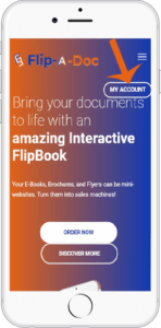 Place an Order for your next Interactive FlipBook with Flip-A-Doc